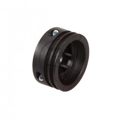 NYLON PULLEY FOR 50mm AXLE, BLACK ANODIZED