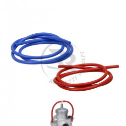 TUBO IN SILICONE PER OVERFLOW CARBURATORE L. 1mt