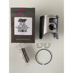 KIT 4 PISTONI VERTEX SEMI PIATTO COMPLETO DI FASCIA 0,8 mm 1R - TM RACING