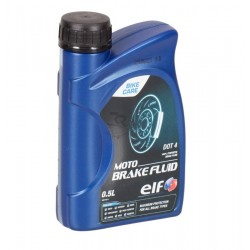 "OLIO ELF ""MOTO BRAKE FLUID DOT4"" (500ML)"